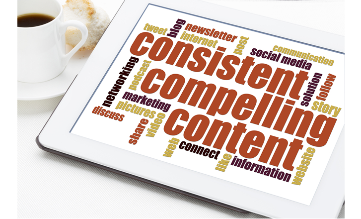Consistent Compelling Content Image