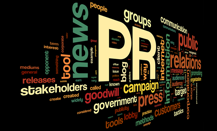 PR Word Cloud Image